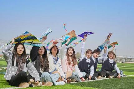 新乡职业技术学院:春风里,他们用作品放飞梦想!
